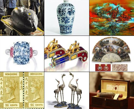 Most expensive auctions in Asia