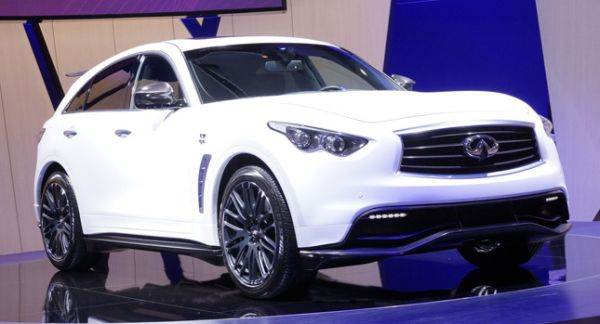 Infiniti Limited Production FX Sebastian Vettel Edition
