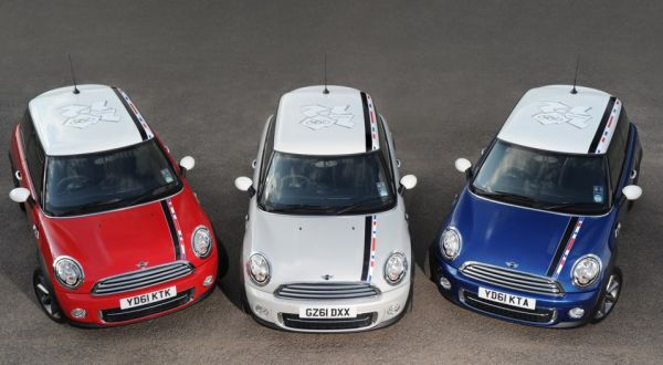 Limited edition Mini Cooper for 2012 London Olympics