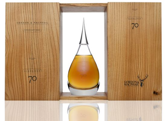 The Glenlivet 70 year old whiskey