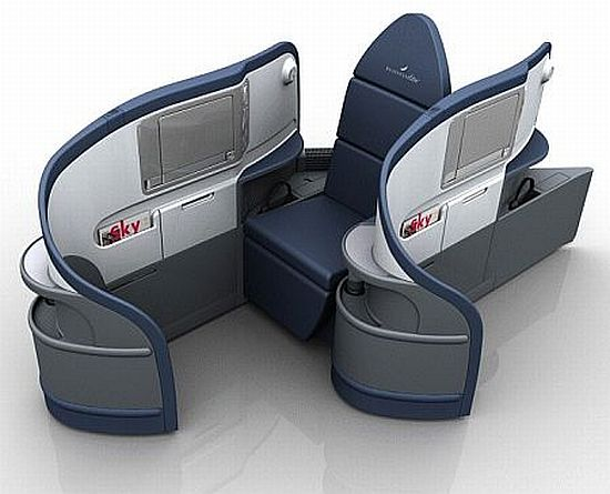 Delta  Luxurious Lie-Flat Seats