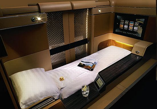Etihad Airways' new first class suite