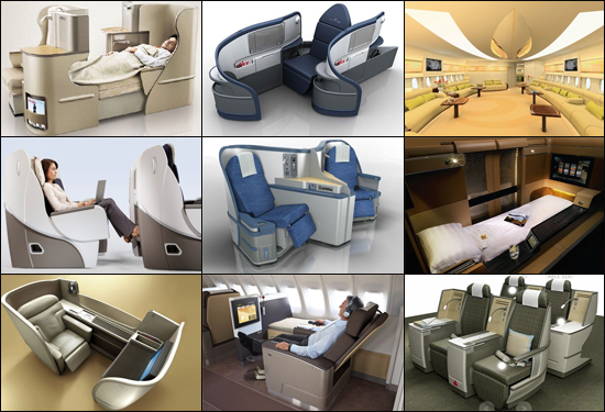 Top Luxury aircraft interiors