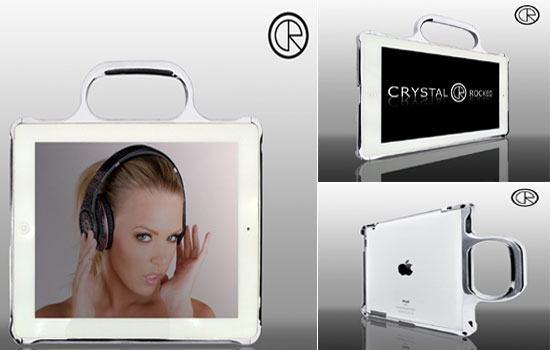 Crystal Rocked iPad 2 bumper casing