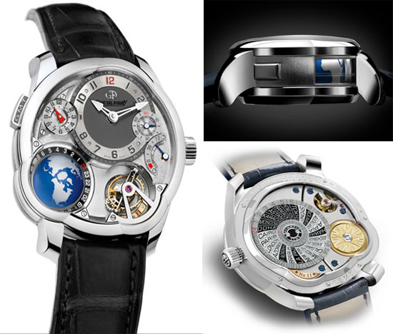 Greubel Forsey GMT Tourbillon watch