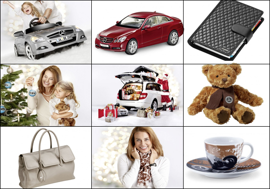 Mercedes Benz 2011 Christmas gift collection