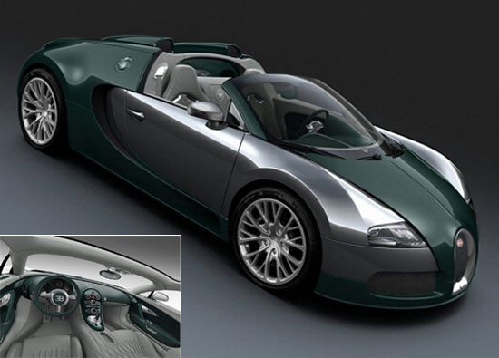 Bugatti Veyron Grandsport Middle East version