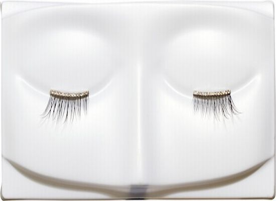 Gold and Diamond eyelashes