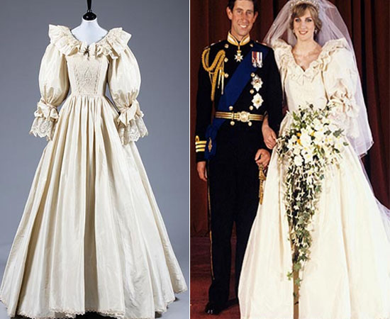 Princess Diana's wedding dress copy is up for auction at $103,796