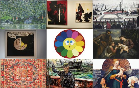 Most expensive paintings sold at auction in 2011