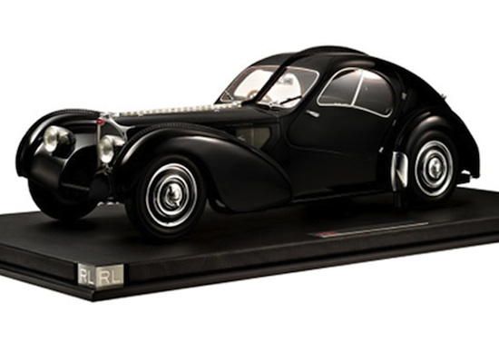 Ralph Lauren 1:8 scale model cars