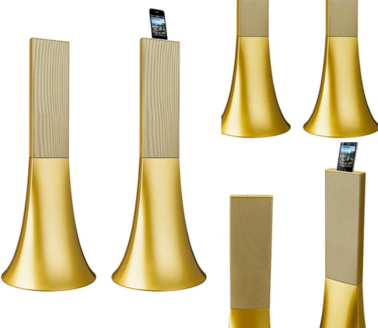 Parrot's 'Ancient Gold' Zikmu speakers