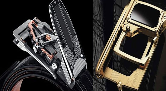 Roland Iten is known for some of the marvelous designs of belt