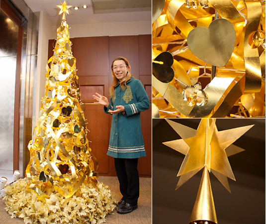 Ginza golden tree