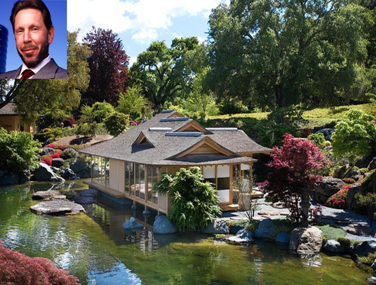 Larry Ellison Japanese home