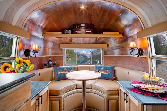 The revamped 1954 Airstream Flying Cloud