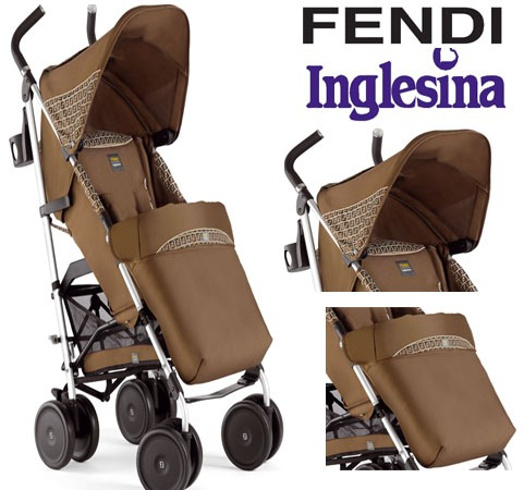 Fendi baby stroller for a fashionale start to a luxury lifestyle