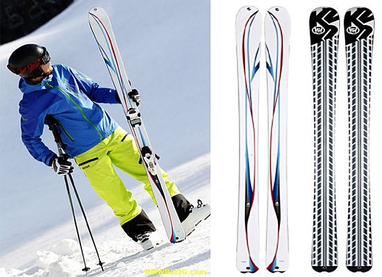 BMW M Design K2 skis