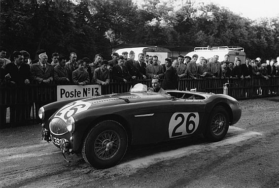 1953 Austin Healey 100 S during glory days