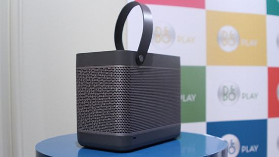 Bang and Olufsen Beolit 12 portable speaker
