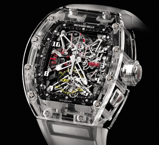Richard Mille RM 56 sapphire crystal watch