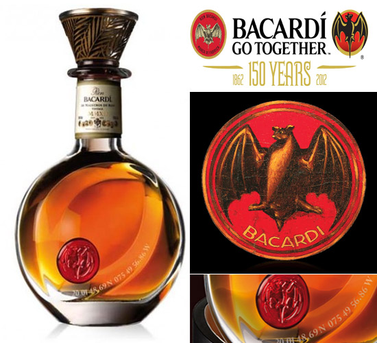 Bacardi 150th Anniversary special edition rum