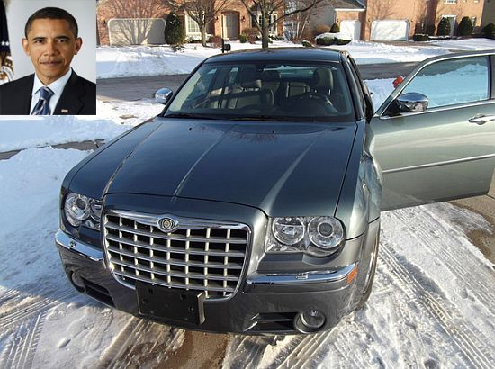 Chrysler 300 owned by Barack Obama