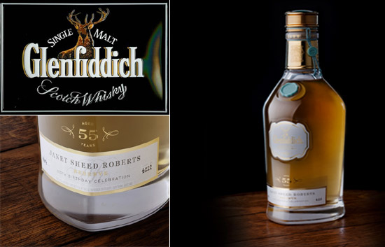 1955 Glenfiddich Janet Roberts Reserve whisky