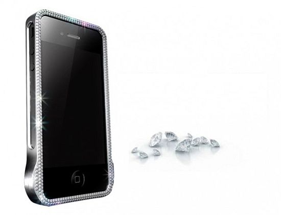 James Allen diamond studded iPhone case
