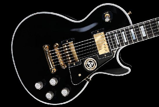 Rock Royalty Custom Gibson Les Paul Guitar