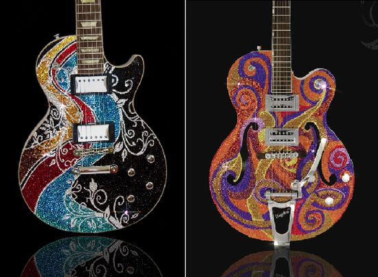Precious Rebels Art Guitars
