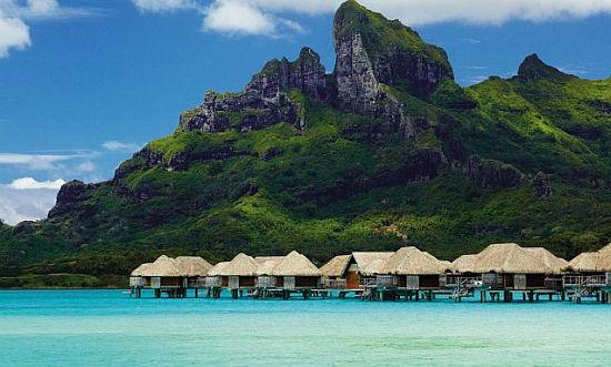 Accomocation at Four Seasons Bora-Bora