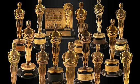 Oscar statues which fetched $3 million at auction