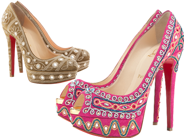 Chirstian Louboutin's Bollywood Collection