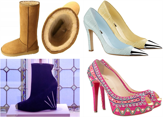 Luxury shoes for Spring 2012