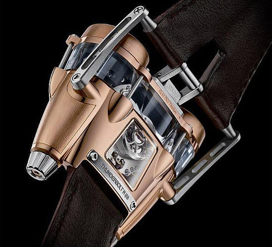MB&F HM4 RT hi-tech flying machine watch