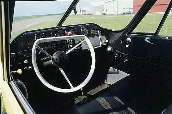1954 certified Aerocar interiors