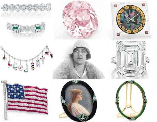 Huguette Clark's Jewelry Up For Auction At Christie's