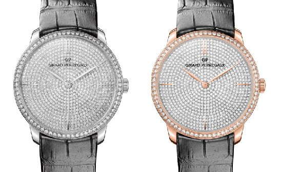 Girard-Perregaux 1966 Watch in White and Pink gold