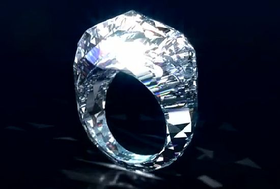 150 carat Diamond Ring by Shawish