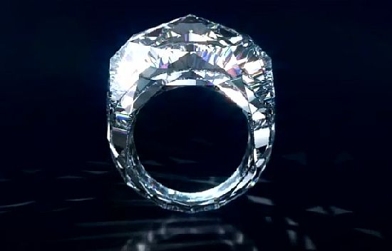Shawish 150 carat Diamond Ring