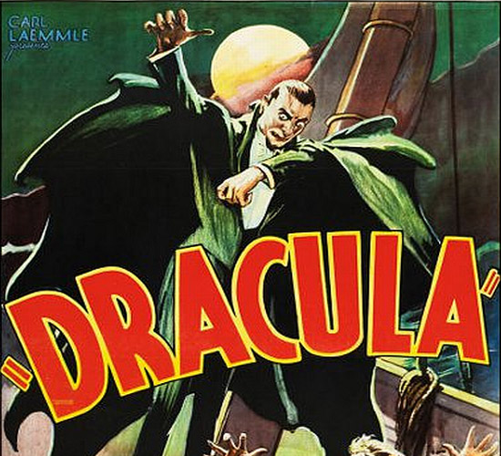 1931 Dracula movie poster