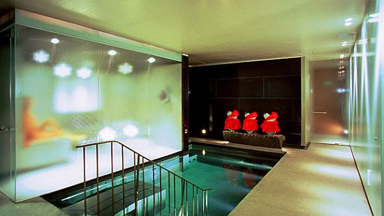 Personal steam room of the Royal suite