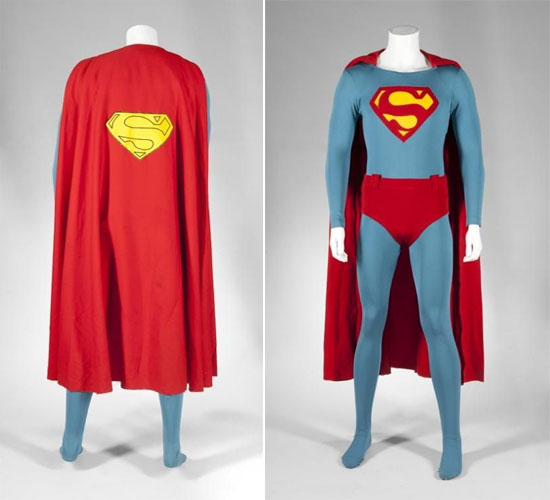SUPERMAN IV CHRISTOPHER REEVE COSTUME