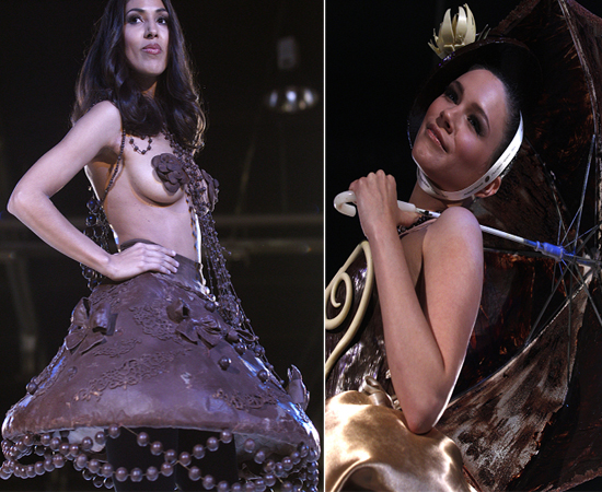 Edible Chocolate Haute Couture Creations