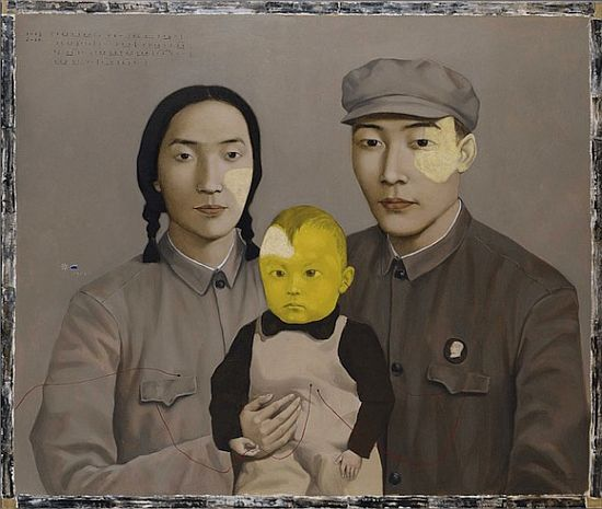 Big Family: Family No. 2 by Zhang Xiaogang