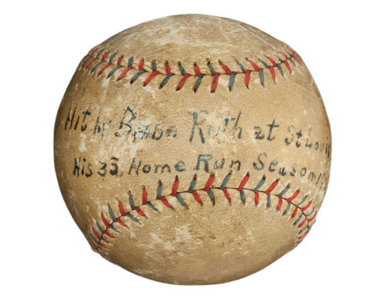 Babe Ruth's Home Run Ball