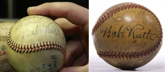 Babe Ruth's Home Run Ball's
