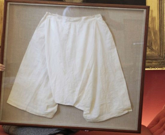 Queen Victoria's bloomers
