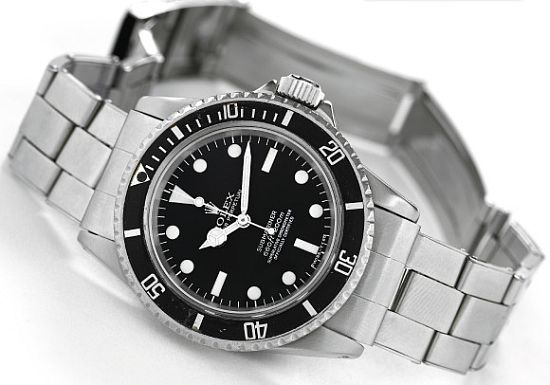 Steve Mc'Queen's 1967 Rolex Submariner ref.5513